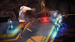 Arena mode is new to First Light. You can also play with Delsin if you own Second Son.